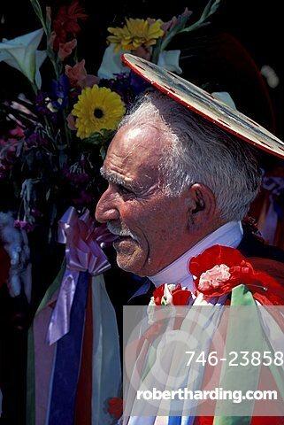 Apostles procession, Palm Sunday, Butera, Sicily, Italy