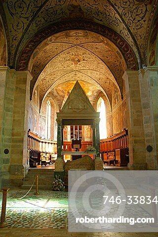 Abbey, Farfa, Lazio, Italy