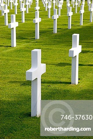 World War II Normandy American Cemetery and Memorial, Normandy, France, Europe