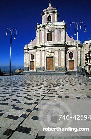 Church, Centuripe, Sicily, Italy
