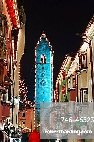 Main street, Vipiteno, Trentino Alto Adige, Italy