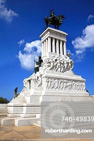 Maximo Gomez monument, Havana, Cuba, West Indies, Central America
