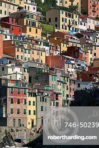 Riomaggiore, UNESCO World Heritage Site, Liguria, Italy, Europe