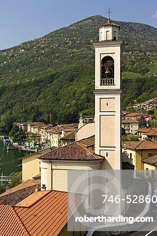 Village view, Riva di solto, Lombardy, Italy