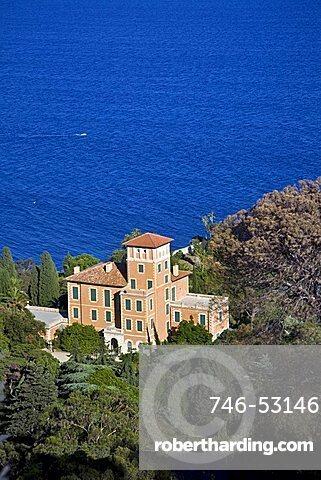 Palace, Villa Hanbury, La Mortola, Ventimiglia, Liguria, Italy