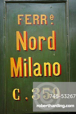 Museo Nazionale della Scienza e della Tecnologia, National Science and Technology Museum Leonardo da Vinci , Train and Railway Pavillon, Milan, Lombardy, Italy