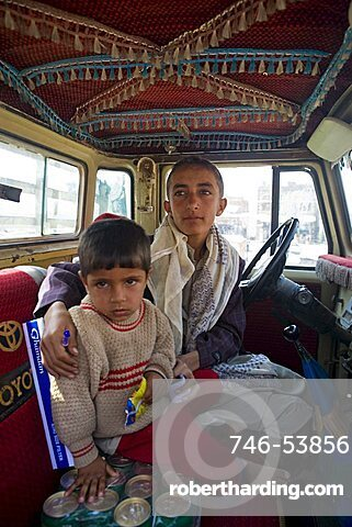 Yemenite children, Al Tawila, Yemen, Middle East