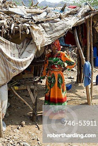 Al Joany african village, Manakha outskirts, Yemen, Middle East