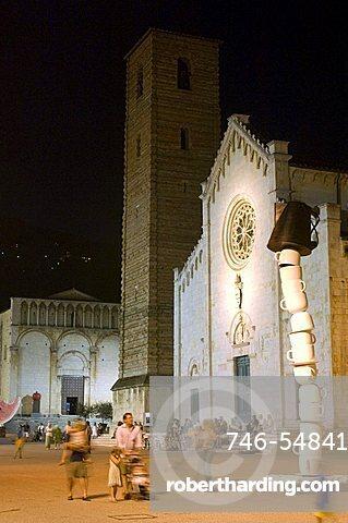 Piazza del Duomo, Pietrasanta, Tuscany, Italy