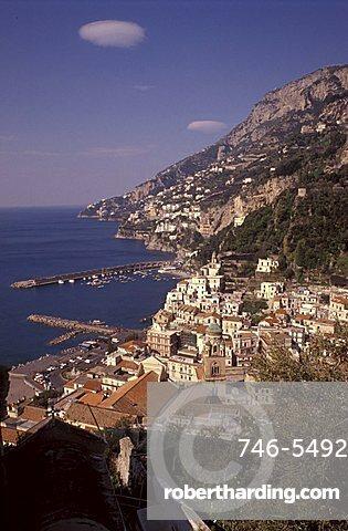 Seaside, Amalfi, Campania, Italy.