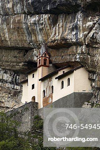 San Colombano hermitage, Trambileno, Trentino, Italy