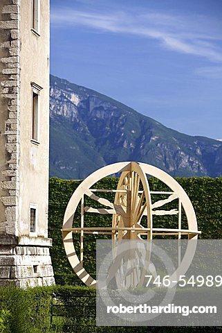 Gianleo Salvotti's work of art, MART, Palazzo delle Albere, Rovereto, Trentino, Italy