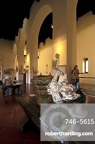 Santa Chiara church and museum, Naples, Campania, Italy
