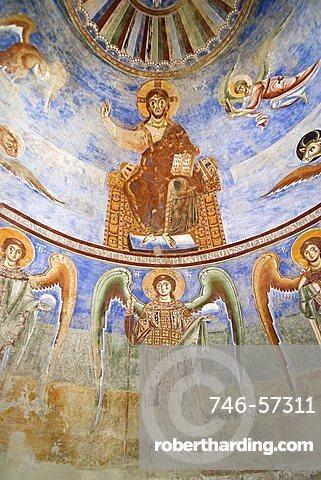Basilica of Sant Angelo in Formis, Capua, Campania, Italy, Europe
