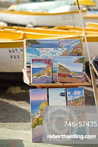 Positano, Amalfi Coast, Campania, Italy, Europe