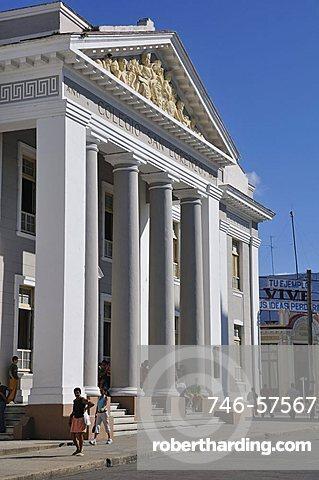 Colegio San Lorenzo, Cienfuegos, Cuba, West Indies, Central America