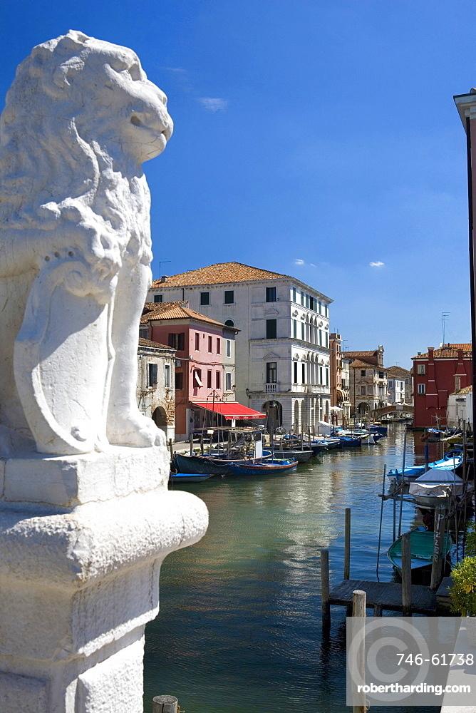 canal, Chioggia, Veneto, Italy