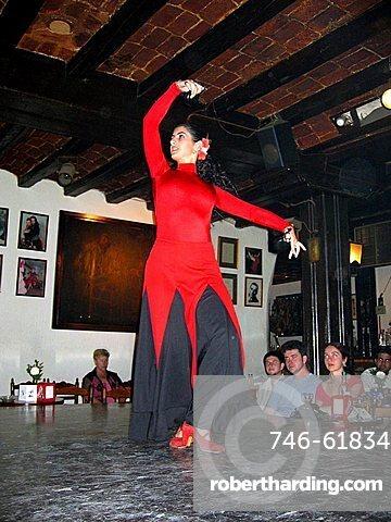 Flamenco dancer, Madrid, Spain, Europe