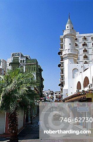Modern buildings, Jeddah, Saudi Arabia, Middle East