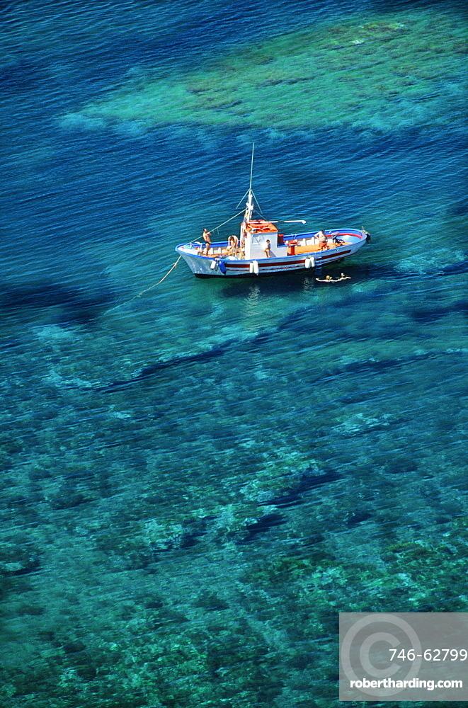 Punta della Madonna, Ustica, Ustica island, Sicily, Italy