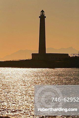 Lighthouse, Favignana, Sicily, Italy