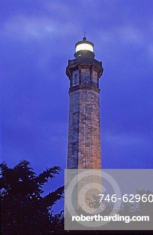 Lighthouse, Saint Clément des Baleines, France, Europe