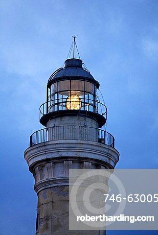 Lighthouse, San Vito Lo Capo, Sicily, Italy