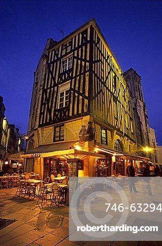 Foreshortening, La Rochelle, France, Europe
