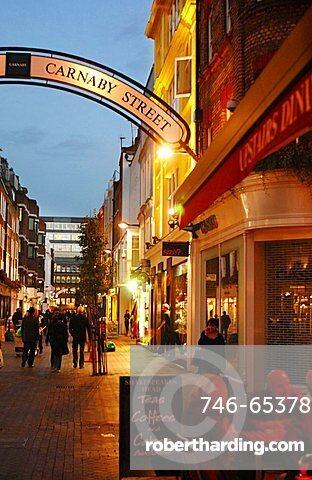 Carnaby street, London, England, United Kingdom,