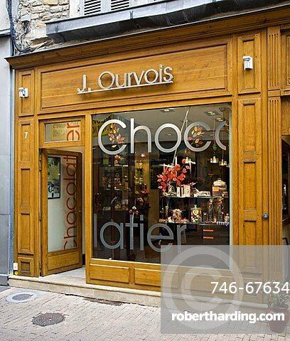 Shop window, Beaune, Bourgogne, Burgundy, France, Europe