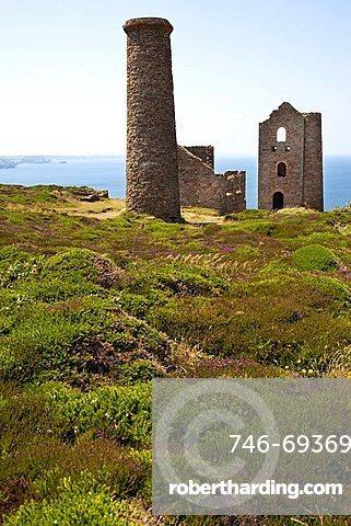 Wheal Coates Mine, St.Agnes, Cornwall, England, Great Britain