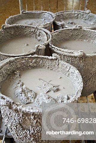 Thermal Mud, Terme San Filippo, Bagni San Filippo, Castiglione d'Orcia, Siena, Tuscany, Italia , Europe