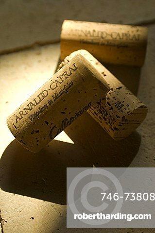 Corks, Cantine Arnaldo Caprai, Montefalco, Umbria, Italy, Europe