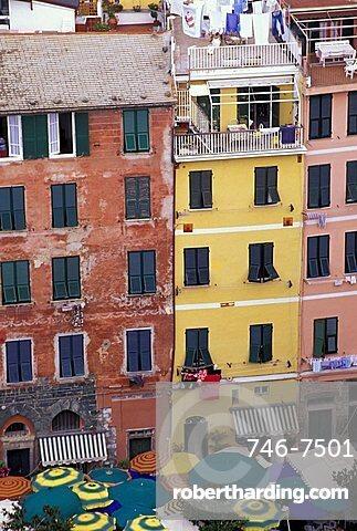 Historic centre, Vernazza, Cinque Terre, Liguria, Italy