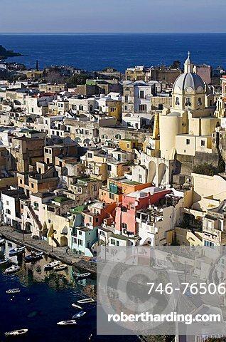 Procida island, Campania,Italy,Europe.