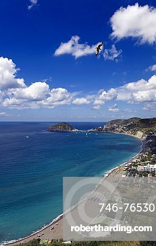 Maronti beach, Ischia,Campania,Italy,Europe.