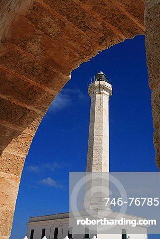 Lighthouse, Santa Maria di Leuca, Apulia, Italy, Europe
