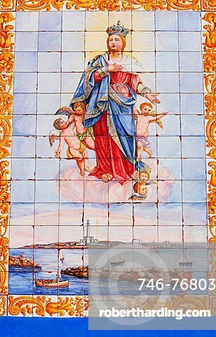 Detail, Horatory of Santa Maria della Ouritvì church, Gallipoli, Apulia, Italy, Europe