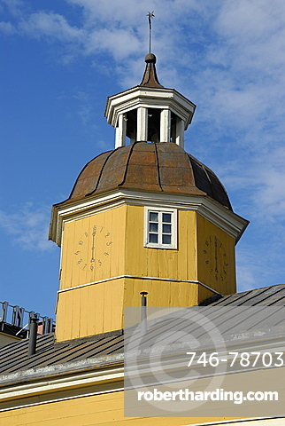 The old Town hall, Kajaani, Kainuu, Finland, Scandinavia, Europe