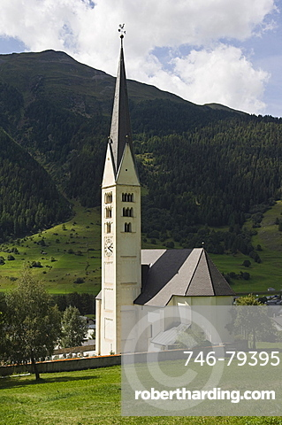 main church, zernez, switzerland