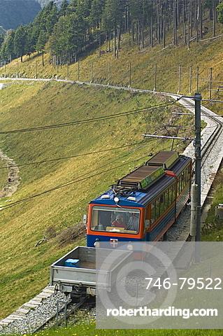 rack railway, mendrisio, switzerland