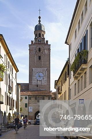 historical centre, castelfranco veneto, italy