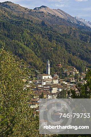 little town view, clusone, italy