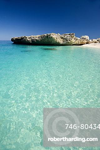 Cala Mariolu, Baunei, Provincia Ogliastra, Golfo di Orosei, Sardinia, Italy