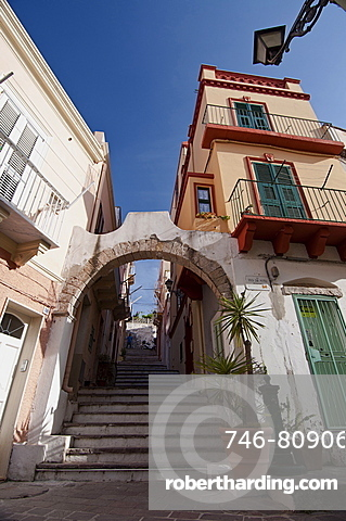 Arco Solferino, Carloforte, St Pietro Island, Sulcis Iglesiente, Carbonia Iglesias, Sardinia, Italy, Europe
