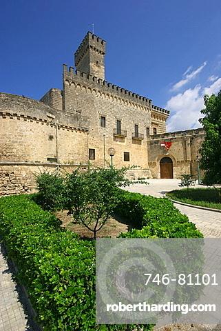 Acquaviva dukes castle, Nardv=, Salentine Peninsula, Apulia, Italy