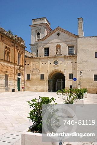 San Giovanni Evangelista church , Lecce, Salentine Peninsula, Apulia, Italy