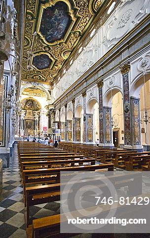 Amalfi Dome, Amalfi, Salerno, Campania, Italy, Europe
