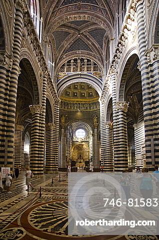 Siena Dome,Siena city,Tuscany,Italy,Europe