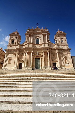 Cathedral of Noto, Noto, Sicily, Italy, Europe
